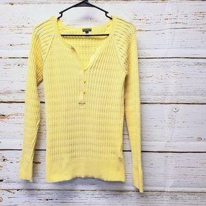Eddie Bauer Henley Style Sweater